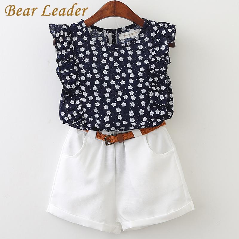 Letni zestaw ubrań dla dziewczynki – elegancka koszula bez rękawów + białe szorty. Rozmiar 3-7lat. Cena 28zł.