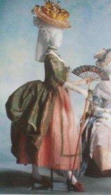 suknia  à la polonaise ok. 1780
