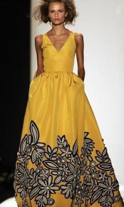 Suknia Oscar de la Renta