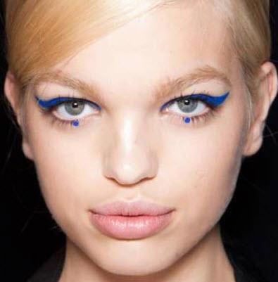kolorowy eyeliner
