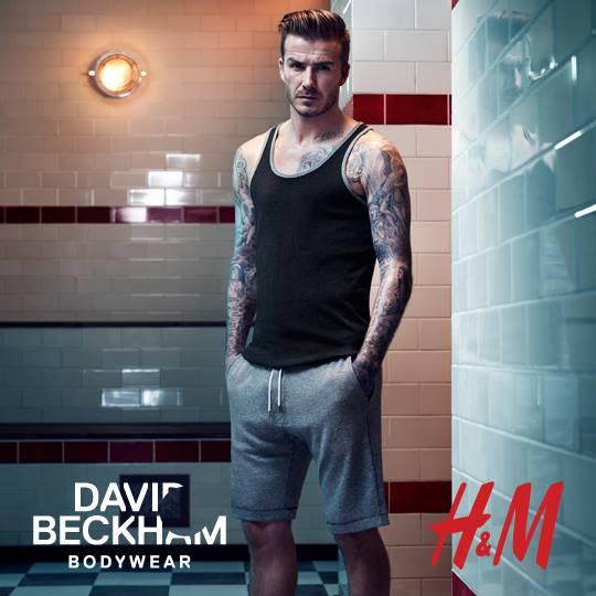 beckham dla h&m