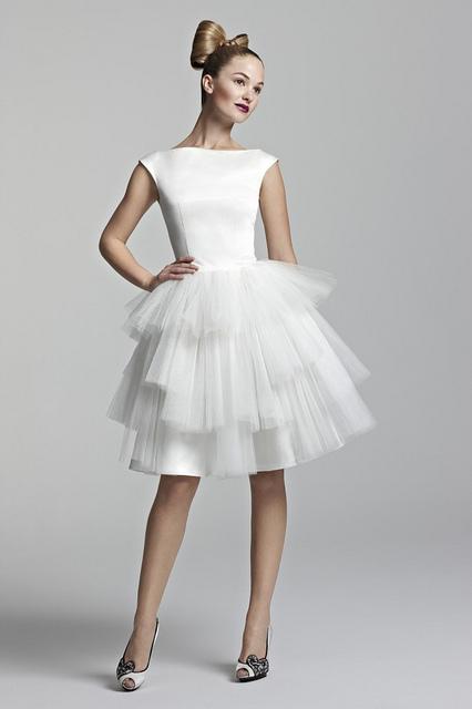 Najmodniejsze suknie ślubne 2014
